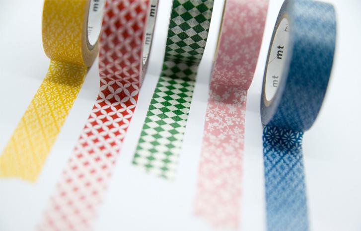 Washi pásky - na zdobení všeho, co Vás napadne