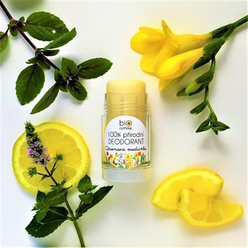 Recenze 100% přírodní deodorant Citronová meduňka (velký)