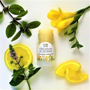 Biorythme 100% přírodní deodorant Citronová meduňka (velký)