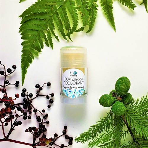 100% přírodní deodorant Neparfémovaný (velký) Biorythme