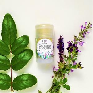 Biorythme 100% přírodní deodorant Pačuli, máta, rozmarýn (velký)