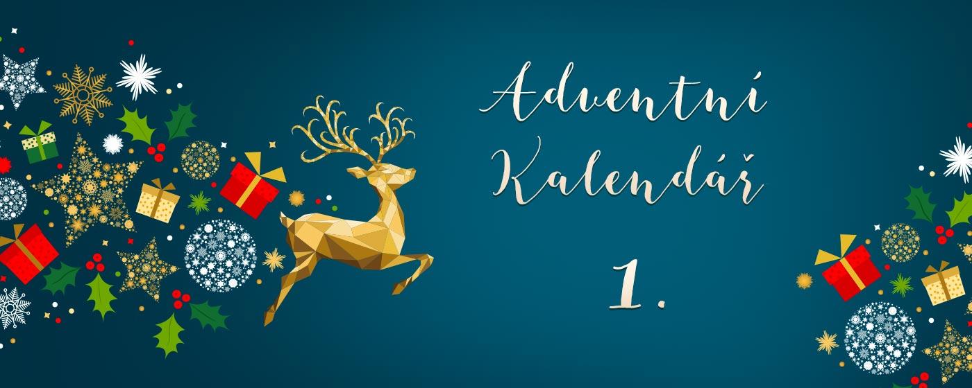 Adventní kalendář - 1. prosince