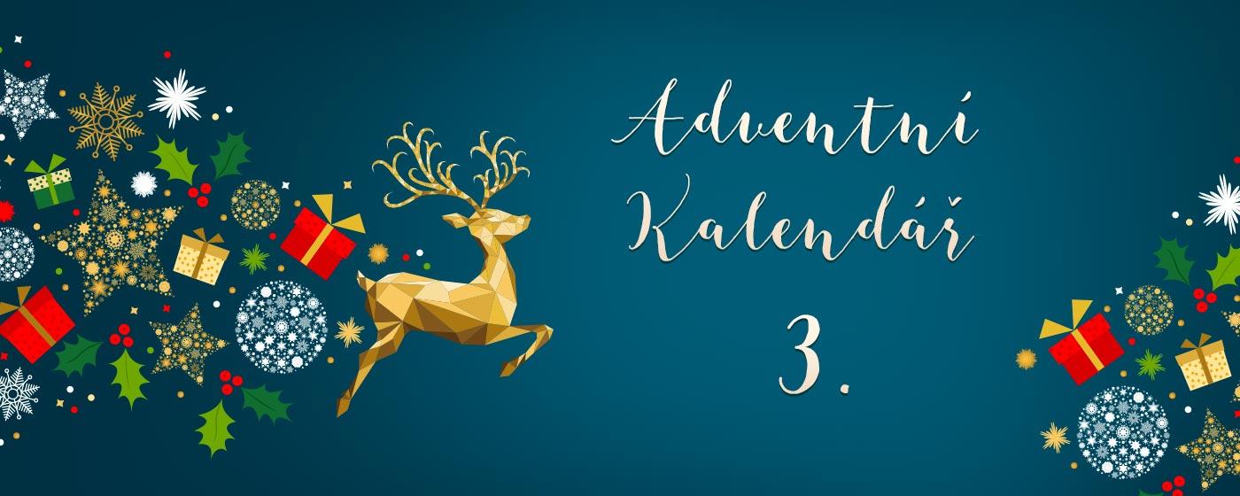 Adventní kalendář - 3. prosince