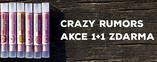 Akce 1+1 zdarma s Crazy Rumors