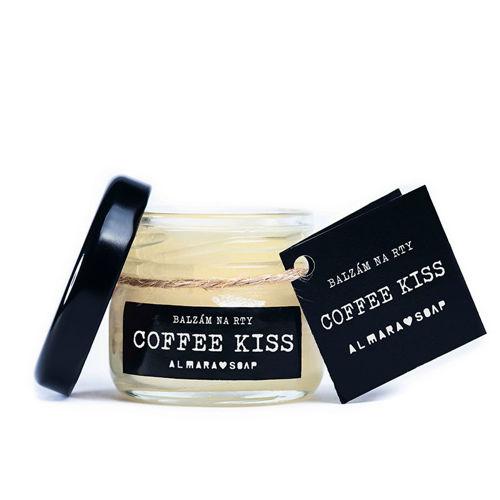 ALMARA SOAP Balzám na rty Coffee Kiss Almara Soap