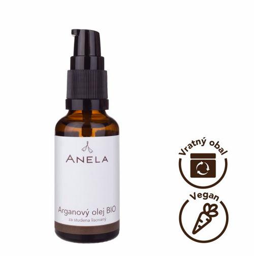 Arganový olej BIO za studena lisovaný 100 ml Anela