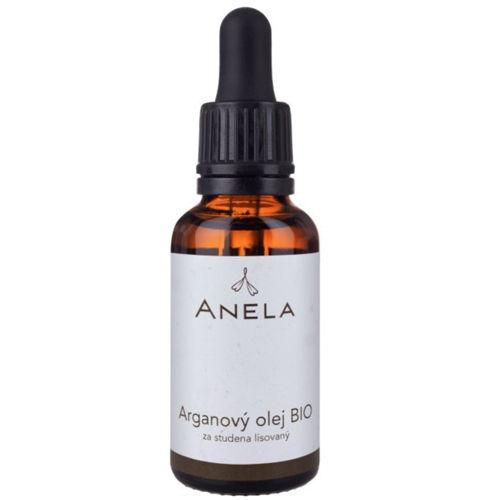 Arganový olej BIO za studena lisovaný 30 ml Anela