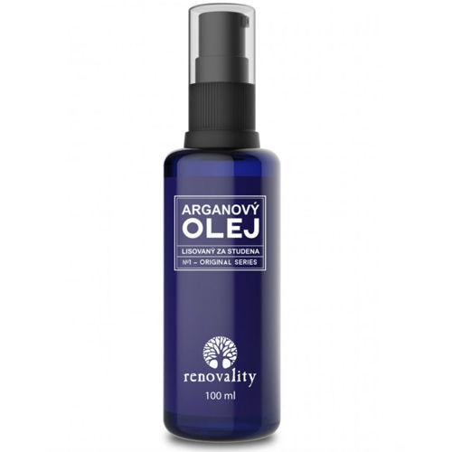 Arganový olej - za studena lisovaný Renovality