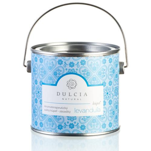 Aromaterapeutická solná koupel Dulcia natural