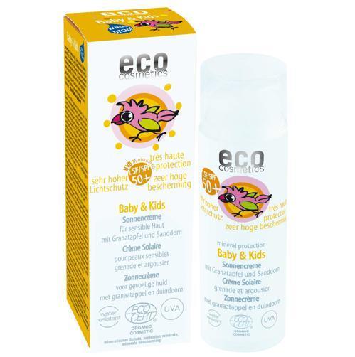 Baby Dětský opalovací krém SPF 50+ BIO Eco Cosmetics