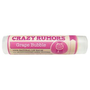 Crazy Rumors Balzám na rty Grape Bubble | Hroznové víno a žvýkačka