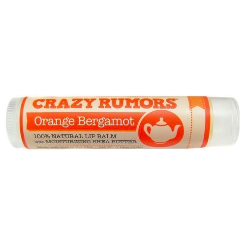 Balzám na rty Orange Bergamot | Čaj a bergamot Crazy Rumors