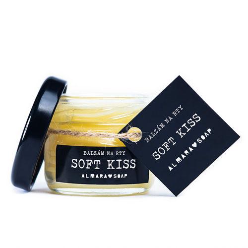 Balzám na rty Soft Kiss Almara Soap