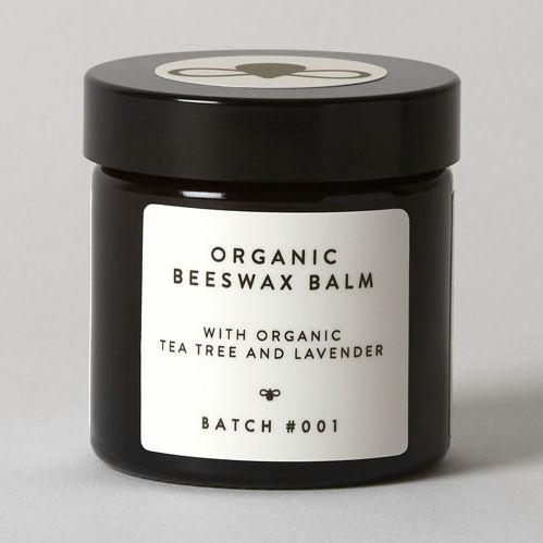BATCH #001 Organický balzám z včelího vosku s tea tree a levandulí 120 ml BATCH #001