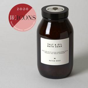 BATCH #001 BATCH #001 Koupelová sůl s olejem tea tree a levandule 560 g