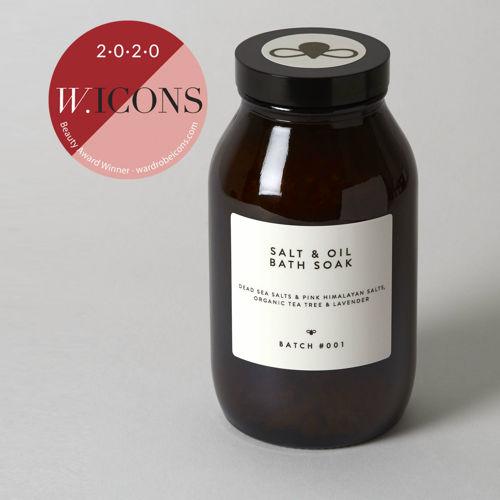 BATCH #001 Koupelová sůl s olejem tea tree a levandule 280 g BATCH #001