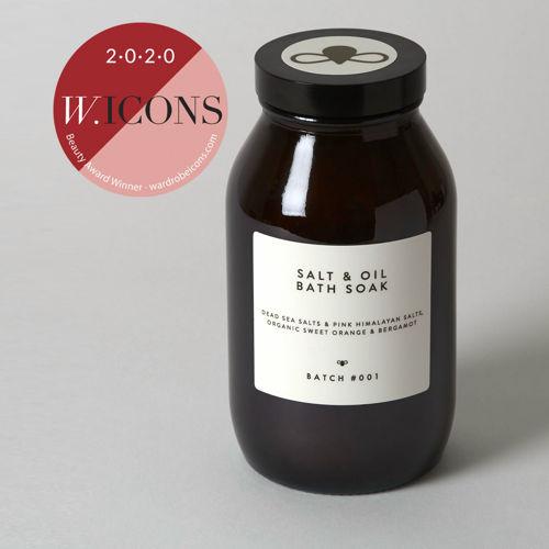 BATCH #001 Koupelová sůl s olejem ze sladkých pomerančů a bergamotu 280 g BATCH #001