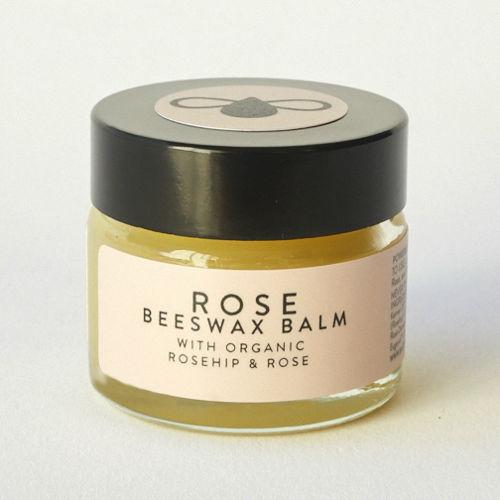 BATCH #001 Organický balzám z včelího vosku s růží 15ml BATCH #001