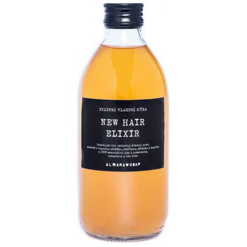 Bylinná vlasová kúra New Hair Elixir Almara Soap