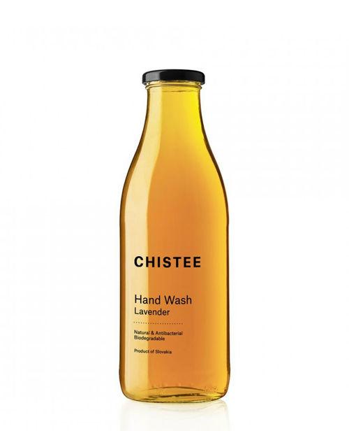 CHISTEE Prostředek na mytí rukou Lavender ve skle 1060 ml CHISTEE