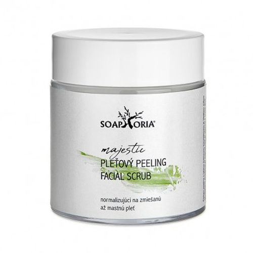 Čistící & normalizující peeling pro smíšenou až mastnou pleť Soaphoria