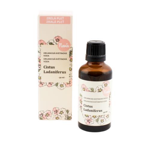 Cistus Ladaniferus - BIO květová voda 50 ml Navia
