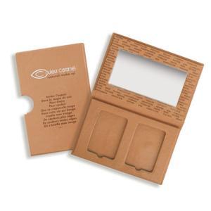 Couleur Caramel Prázdná paletka na dva kompaktní pudry/tvářenky