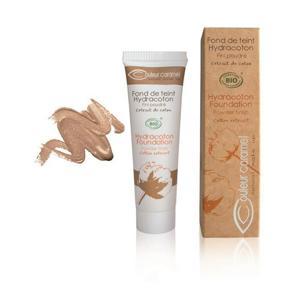 Couleur Caramel Tekutý make-up s extraktem z bavlny BIO 14 Warm Sand
