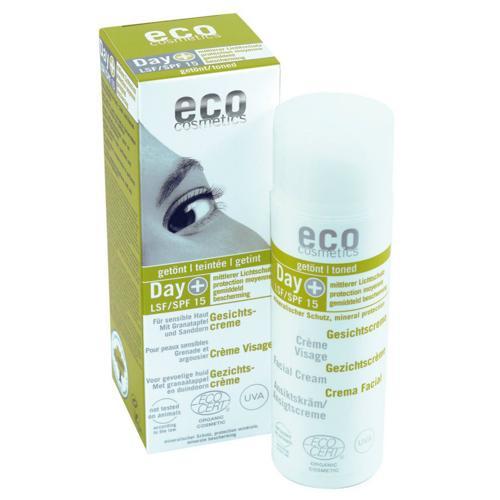 Denní tónovací a opalovací krém SPF 15 BIO Eco Cosmetics