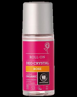 Urtekram Deodorant roll-on Růže