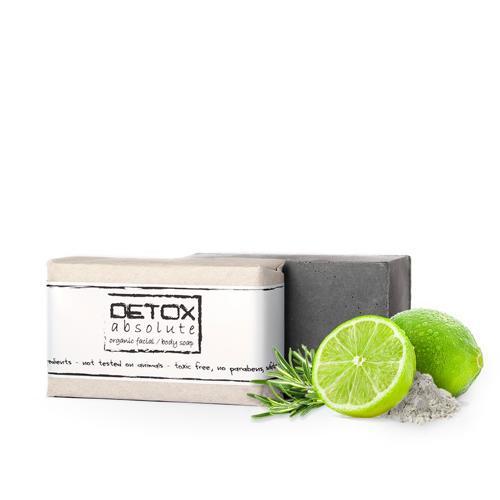 Detoxikační organické mýdlo na obličej Soaphoria