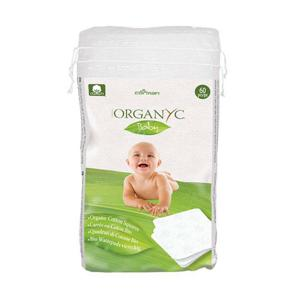Organyc Dětské čistící čtverce suché
