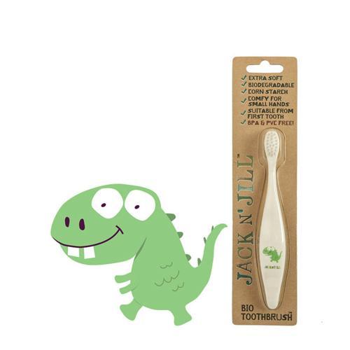 Dětský zubní kartáček Dino Jack N' Jill