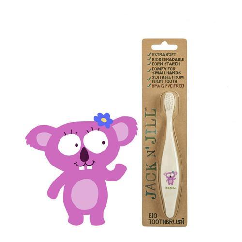 Dětský zubní kartáček Koala Jack N' Jill