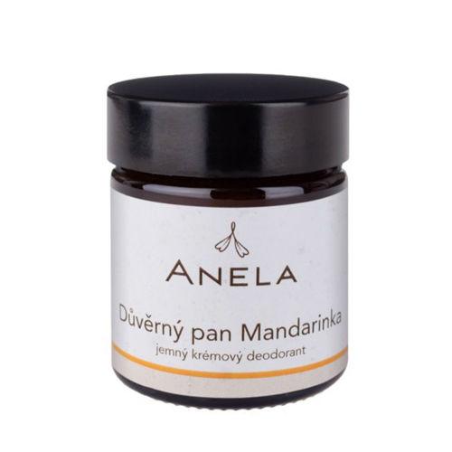 """""""Důvěrný pan Mandarinka"""" Jemný krémový deodorant Anela"""