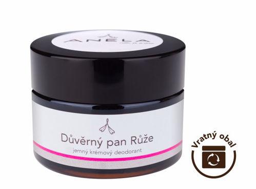 Důvěrný pan Růže - jemný krémový deodorant 50 ml Anela