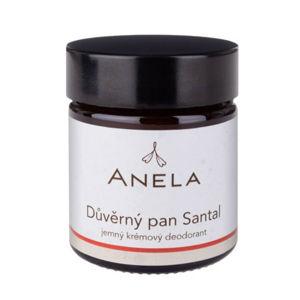"""Anela """"Důvěrný pan Santal"""" Jemný krémový deodorant"""