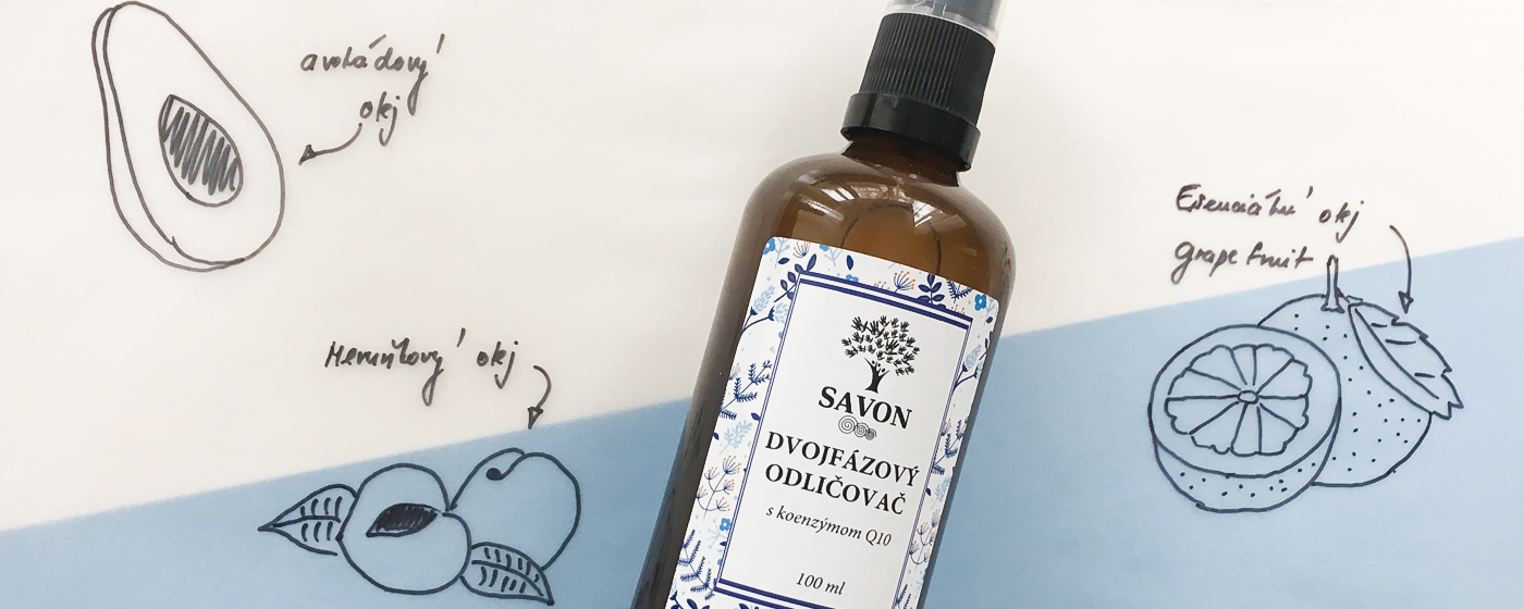 SAVON - Dvoufázový odličovač s koenzymem Q10
