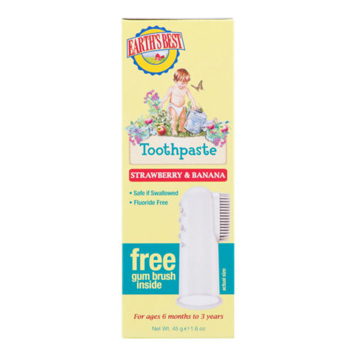 JASÖN E.B. Zubní pasta pro děti od 6 měsíců se zubním kartáčkem  Jāsön