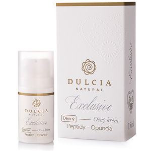 Dulcia natural Exclusive Oční krém denní expirace 11/2019