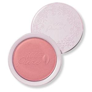 100% Pure Fruit Pigmented® pudrová tvářenka Peppermint Candy