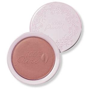 100% Pure Fruit Pigmented® pudrová tvářenka Pink Plum