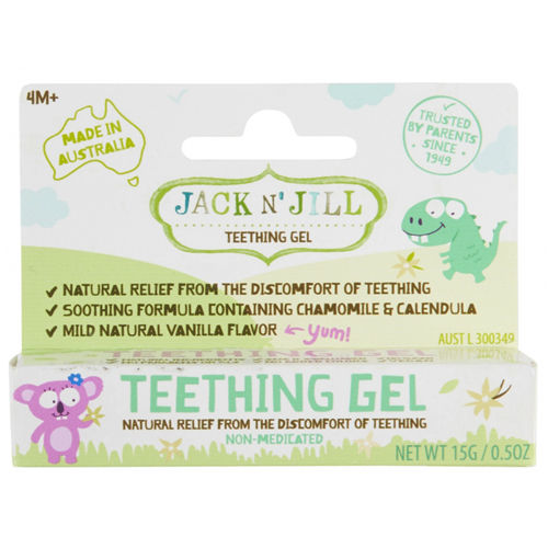Gel na prořezávající se zoubky Jack N' Jill