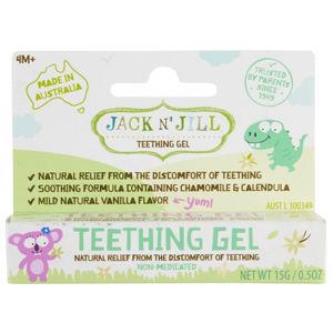 Jack N' Jill Gel na prořezávající se zoubky