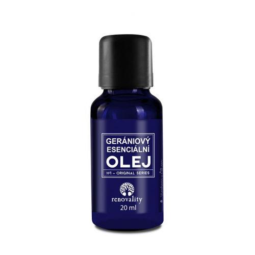 Gerániový esenciální olej Renovality