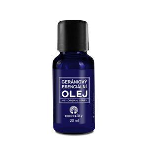 Renovality Gerániový esenciální olej