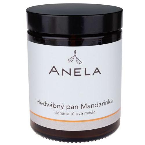 """Šlehané tělové máslo """"Hedvábný pan Mandarinka""""  Anela"""