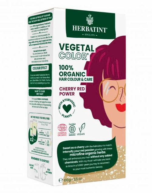 HERBATINT bio rostlinná barva na vlasy cherry red power Herbatint