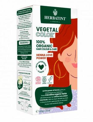 Herbatint HERBATINT bio rostlinná barva na vlasy henna love power