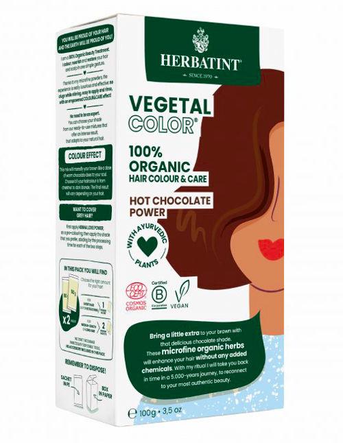 HERBATINT bio rostlinná barva na vlasy hot chocolate power Herbatint